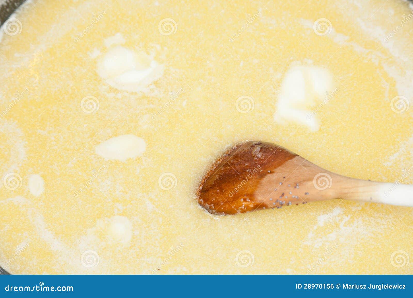 Rozciekły masło