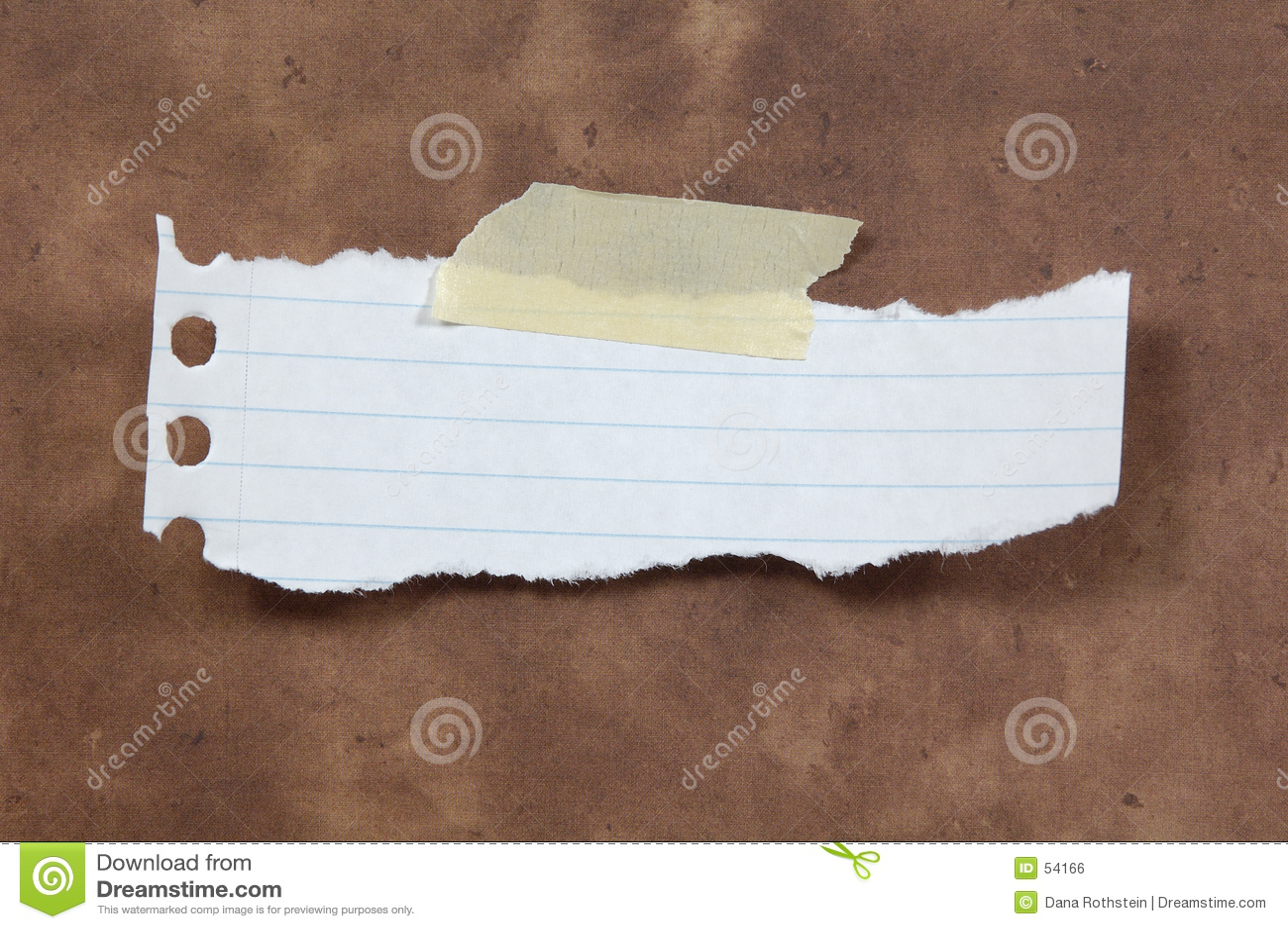 Rozdarty papieru