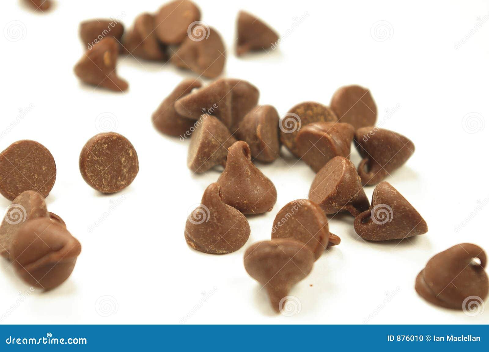 Rozdrobnione czekolady