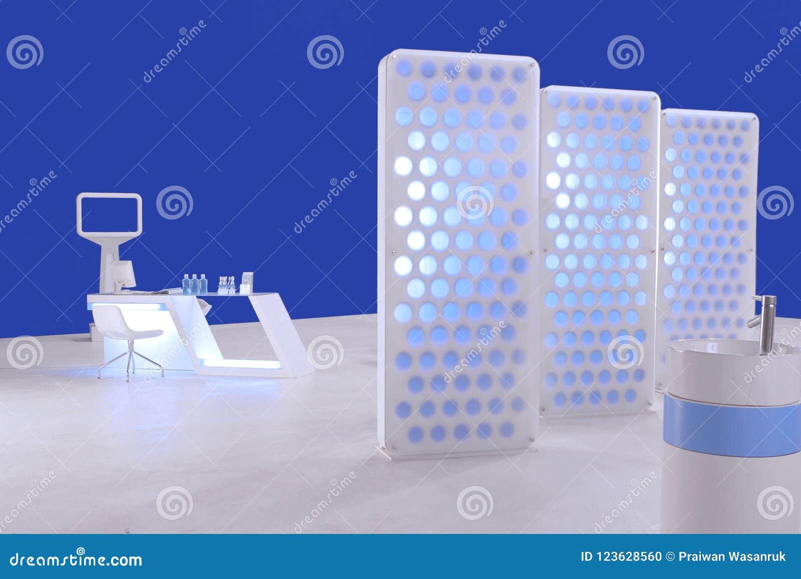 Rozdziały i przestrzeń z stomatologicznej opieki budka