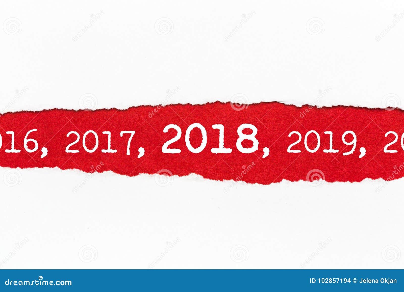 Rozdzierający papier 2018