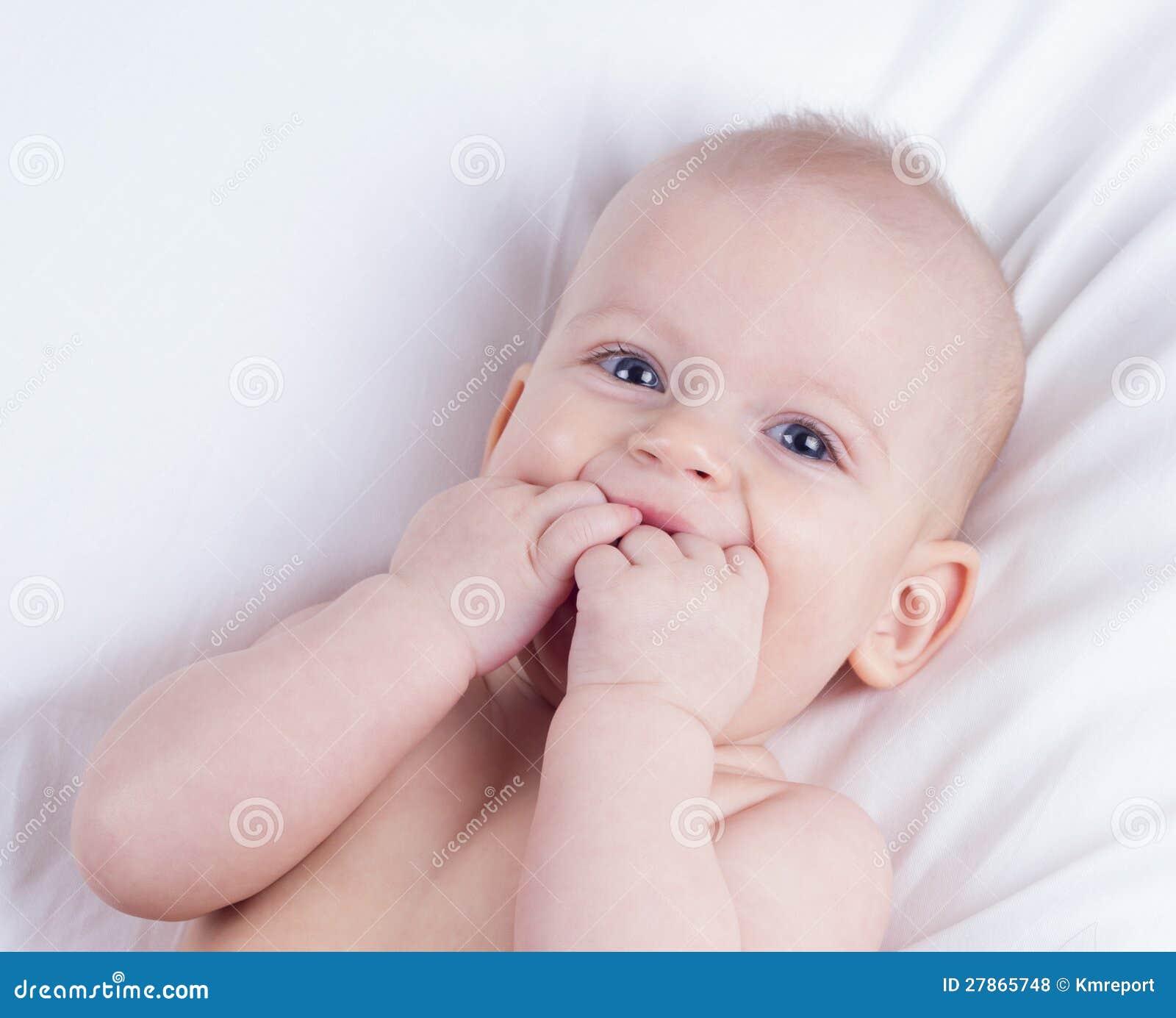 Roześmiany dziecko