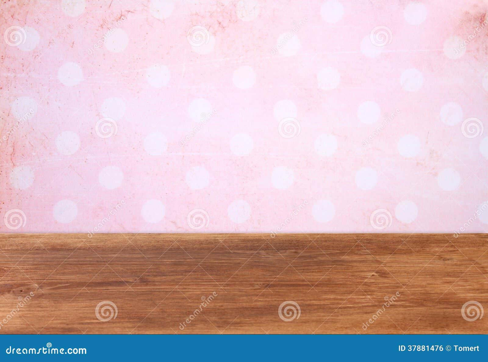 Roze achtergrond met grungekader