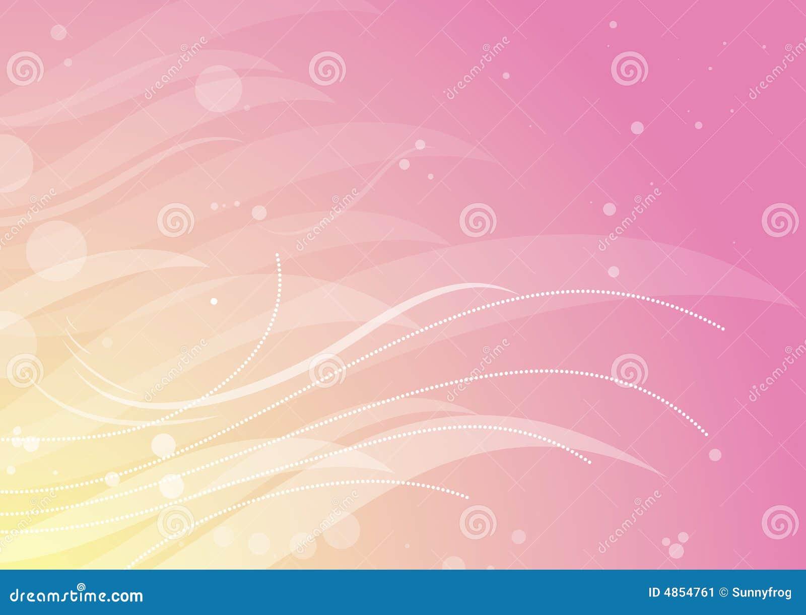 Roze bloemenachtergrond, vecto