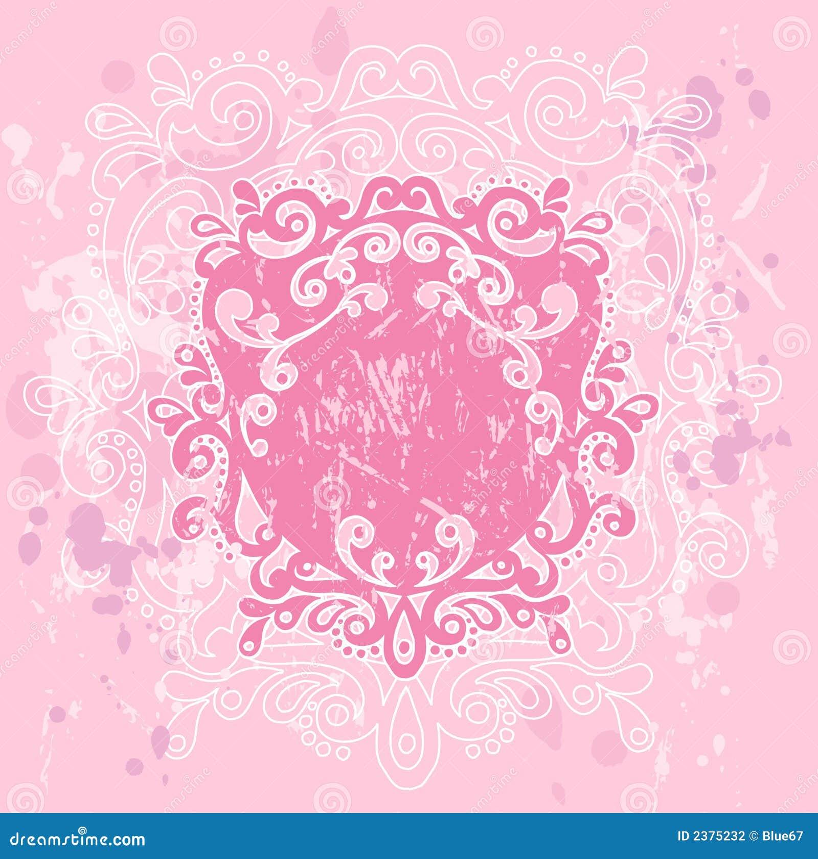 Roze CREST Grunge