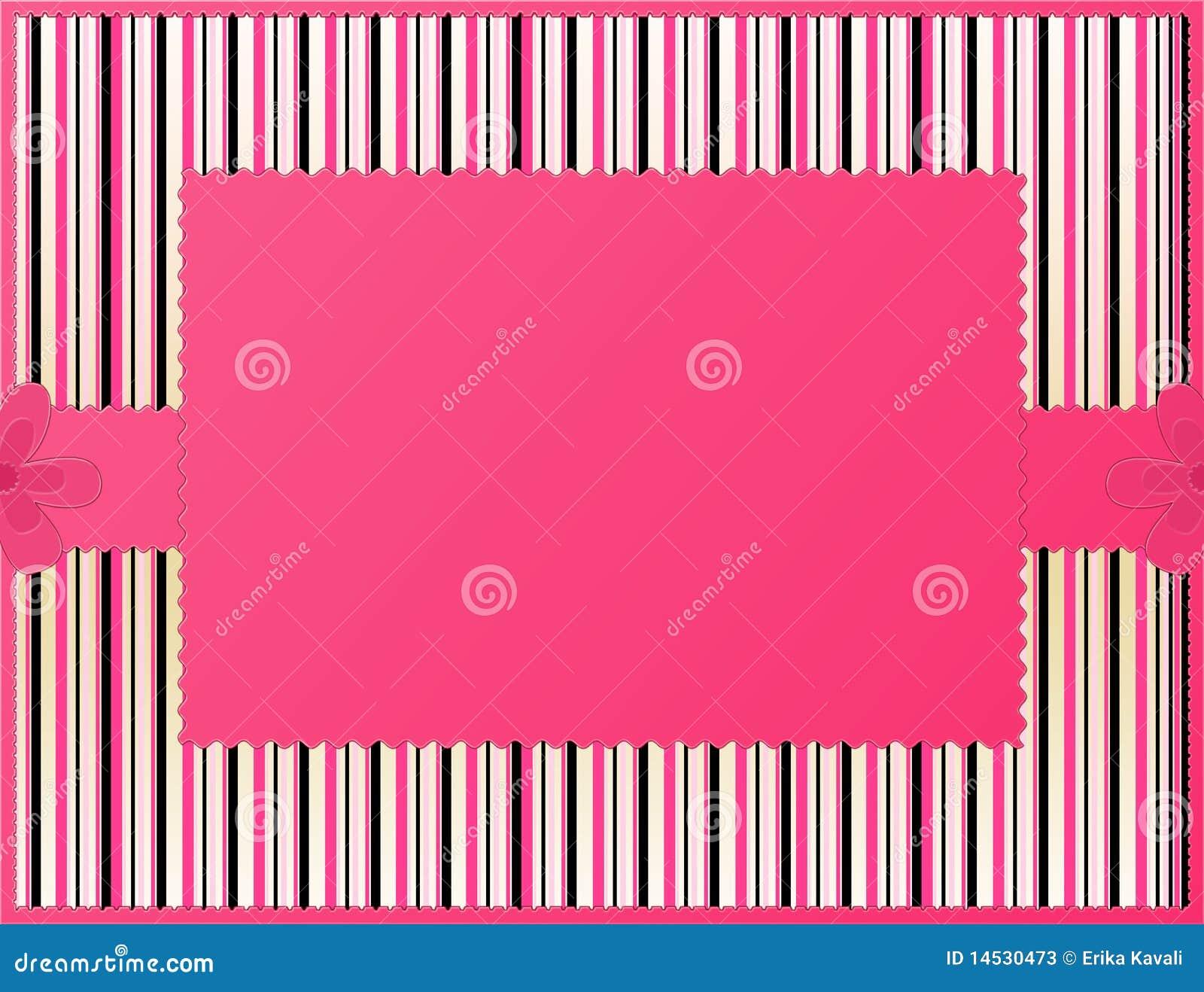 Roze gestreepte achtergrond