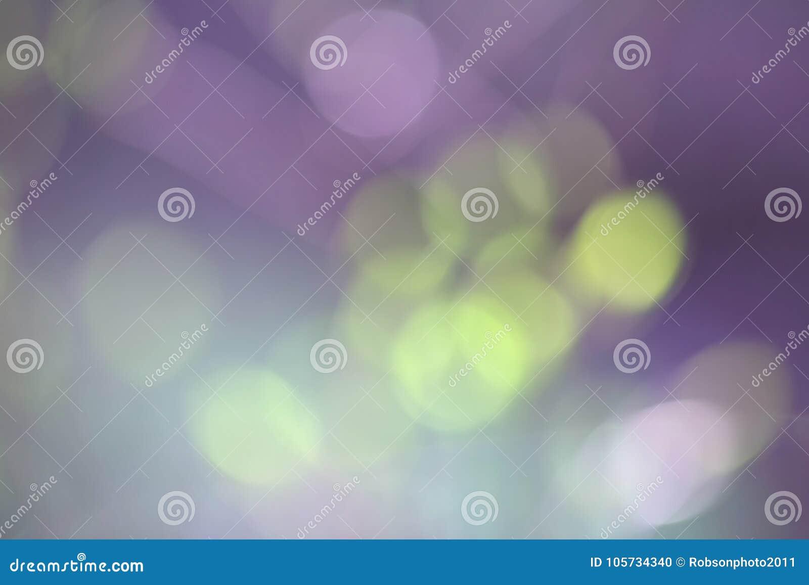 Roze groene vage abstracte bokehachtergrond