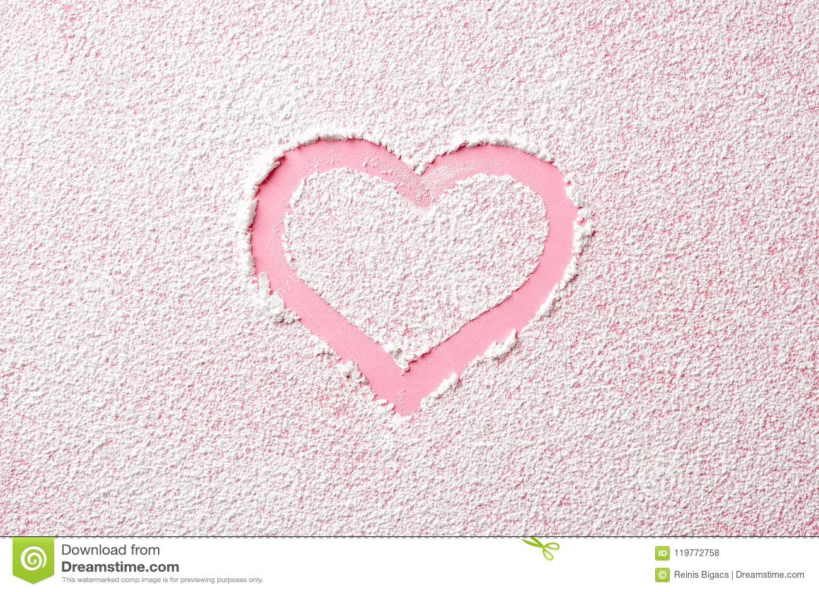 roze poedersuiker
