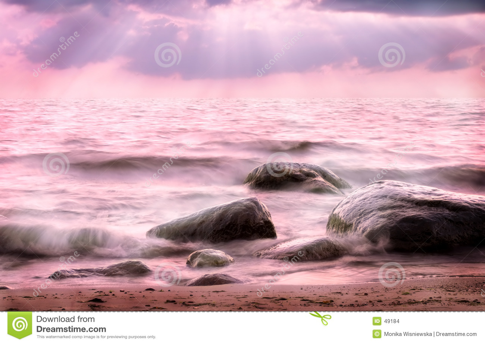 Roze Overzees