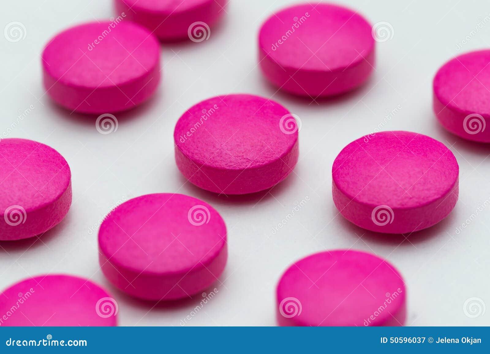 Roze pillen