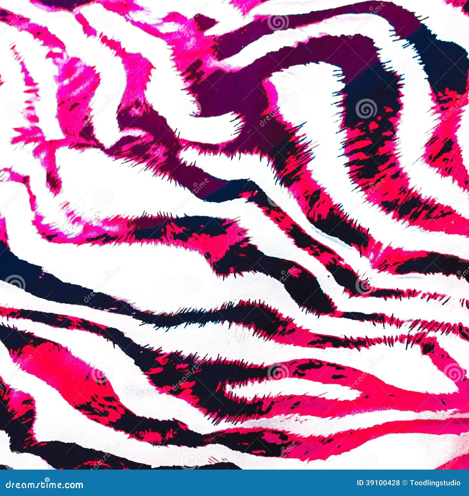 Roze streeppatroon.