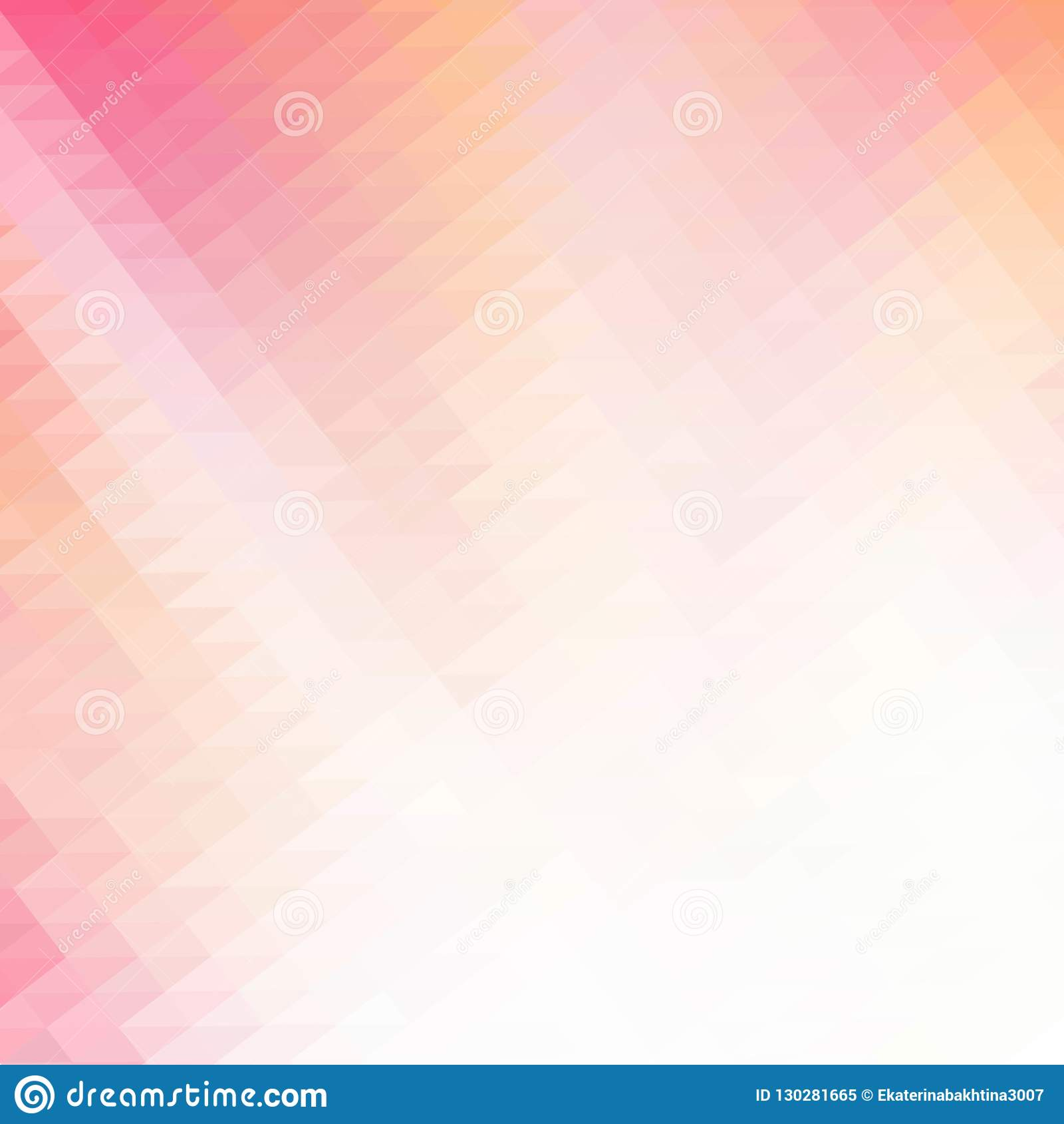 Roze veelhoekige illustratie, wat uit driehoeken bestaan Geometrische achtergrond in Origamistijl met gradiënt Driehoekig ontwerp