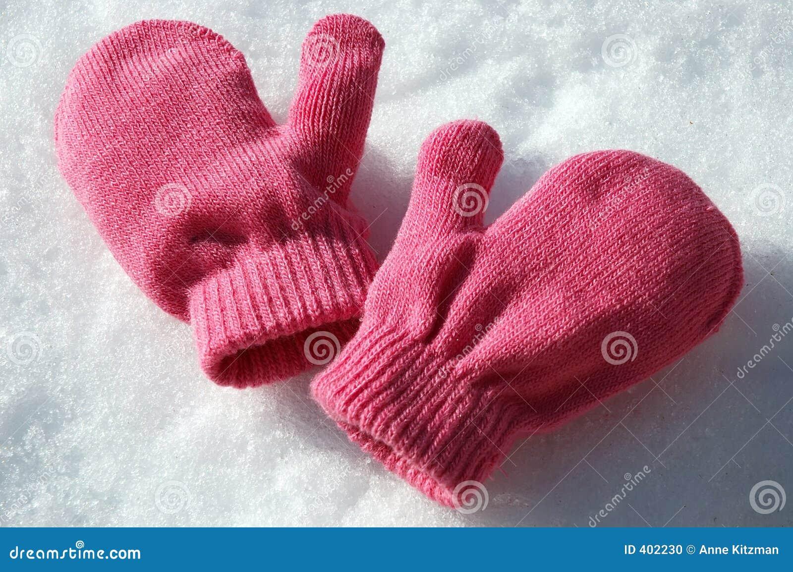 Roze Vuisthandschoenen