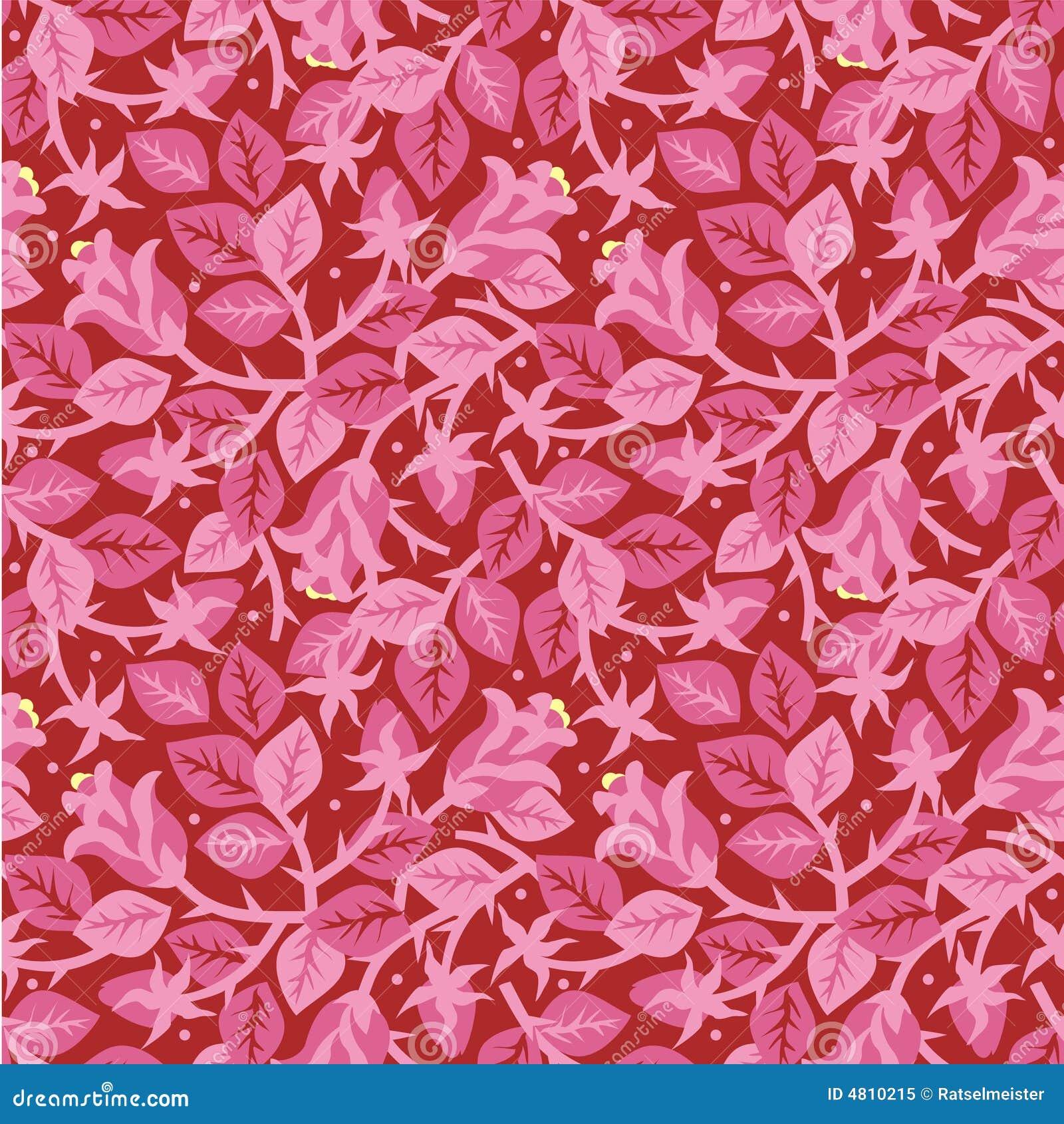 Rozen in bloei bloemen naadloos patroon