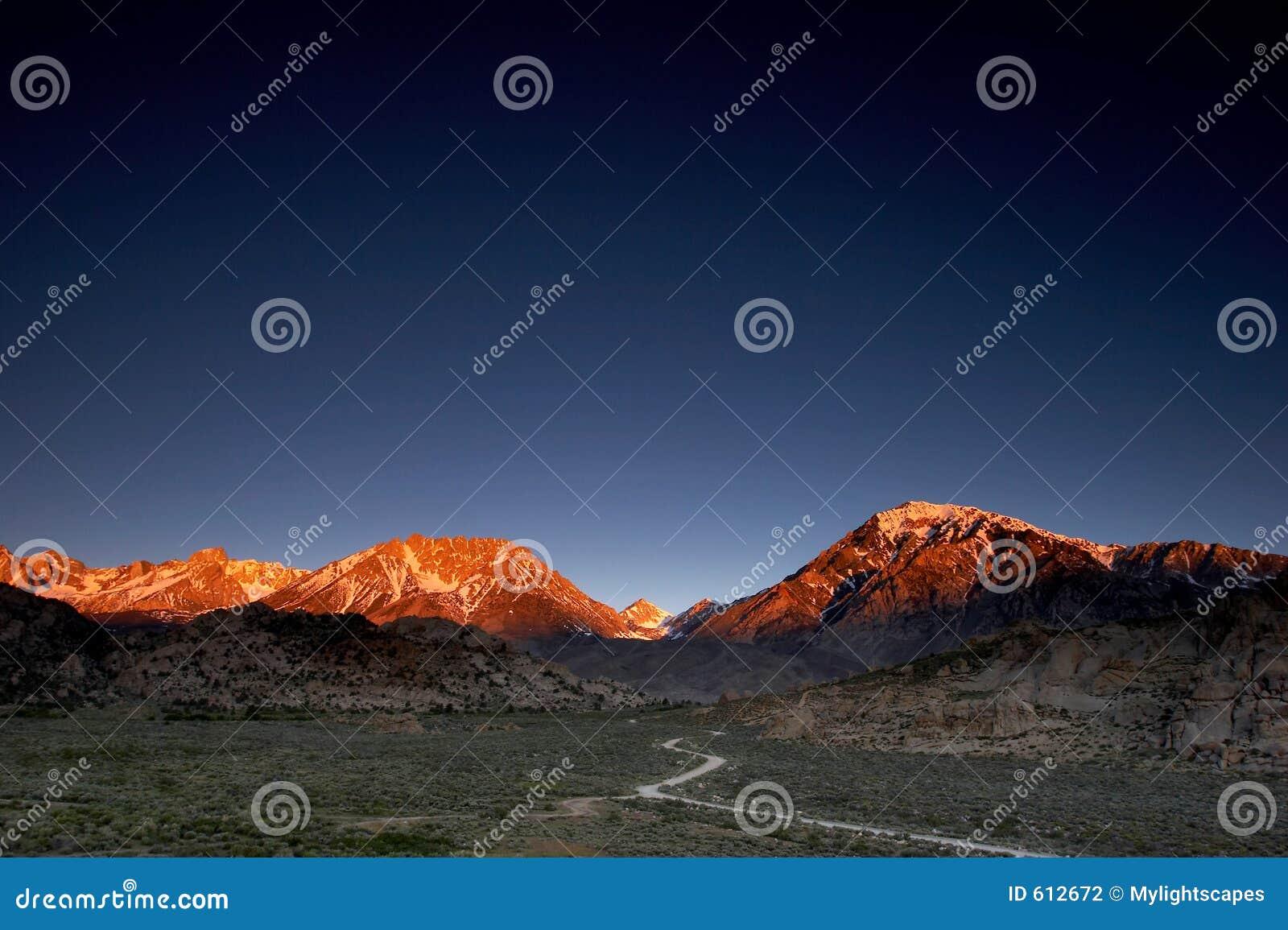 Rozjarzone góry
