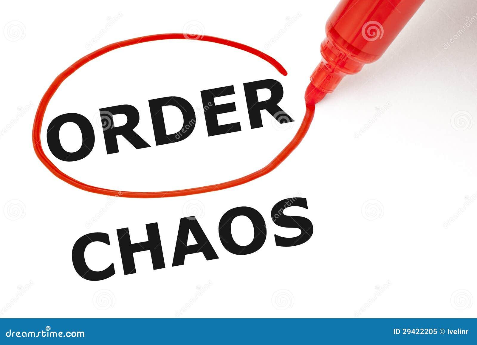 Rozkaz lub chaos