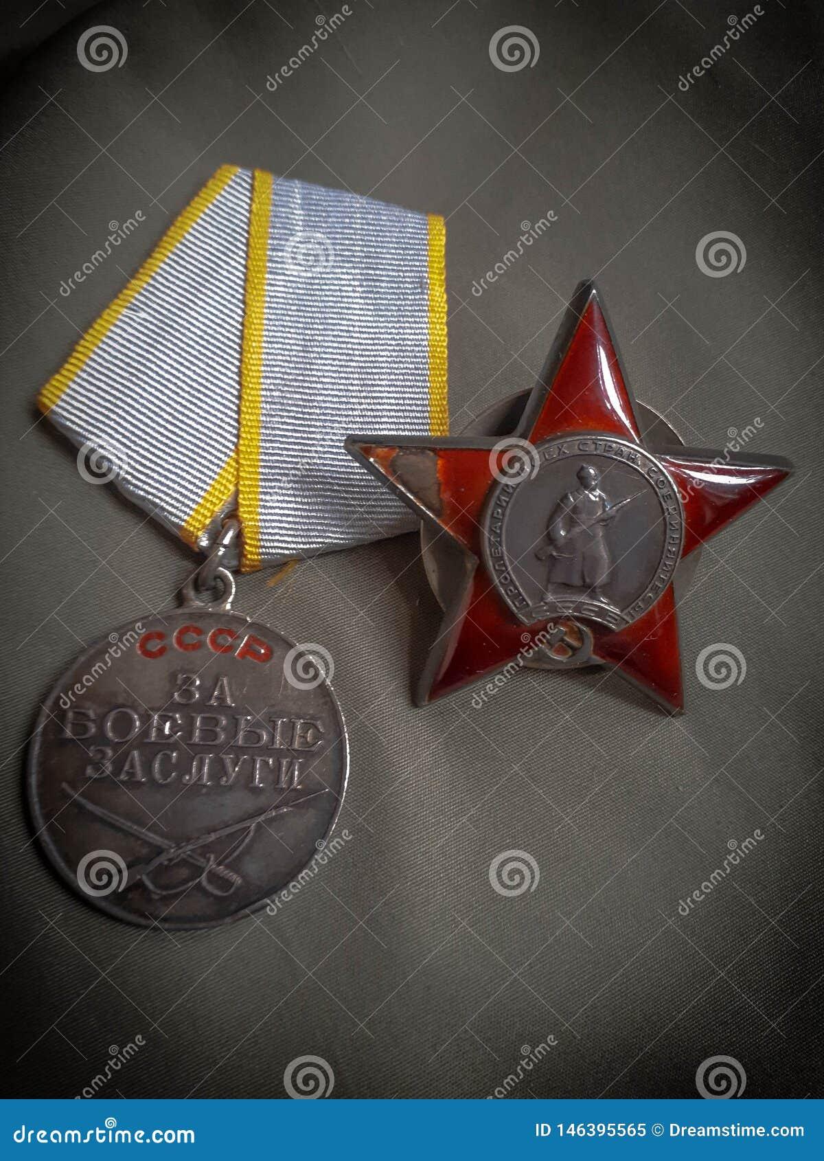 Rozkaz Red Star i zas?ugi nagroda