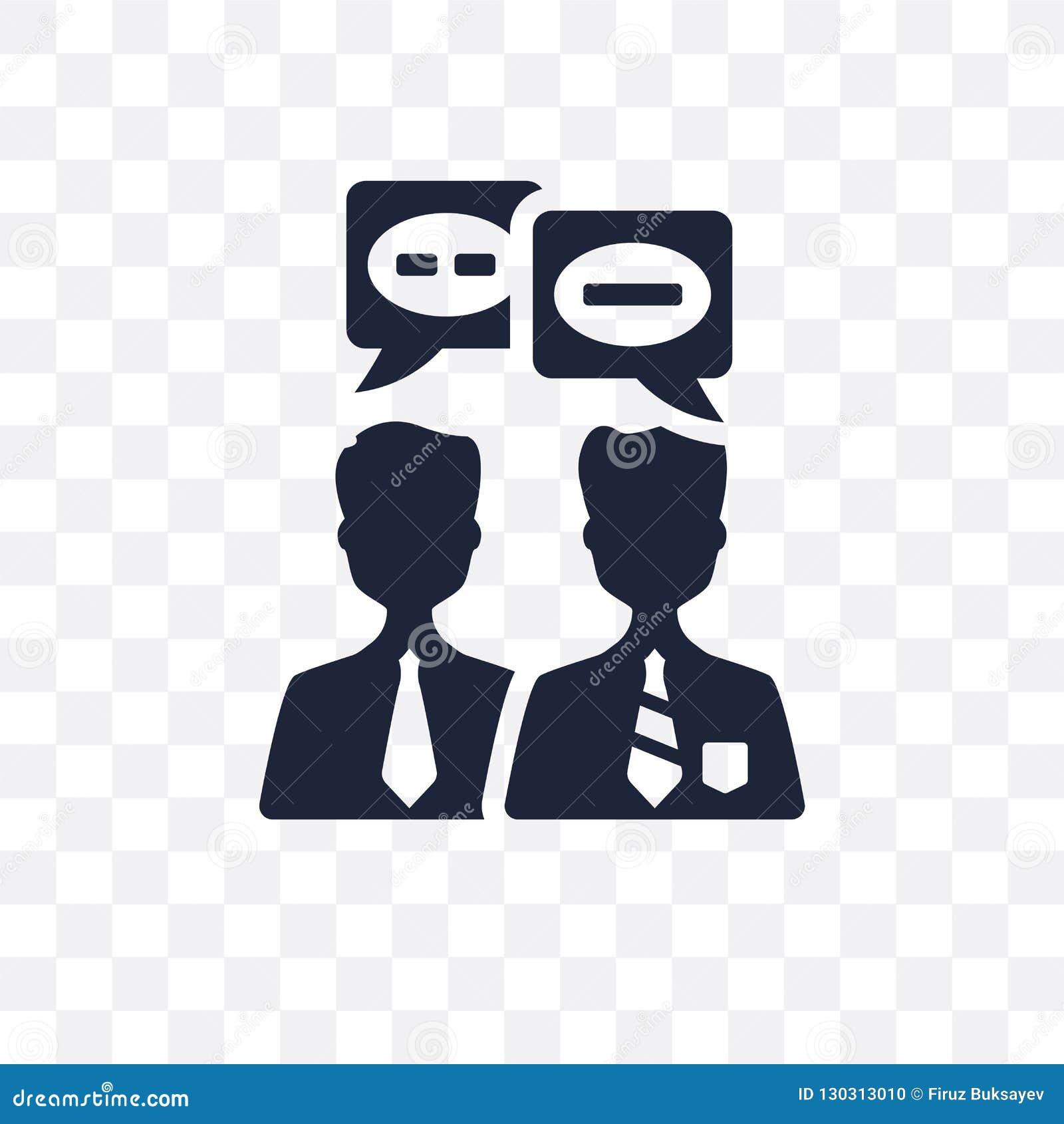 Rozmowy przejrzysta ikona Rozmowa symbolu projekt od H