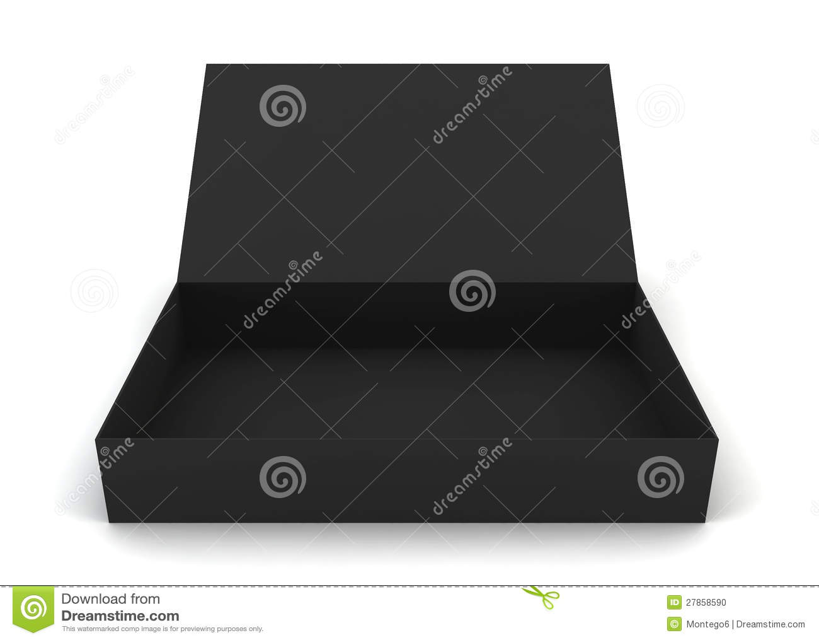 Rozpieczętowany pudełko