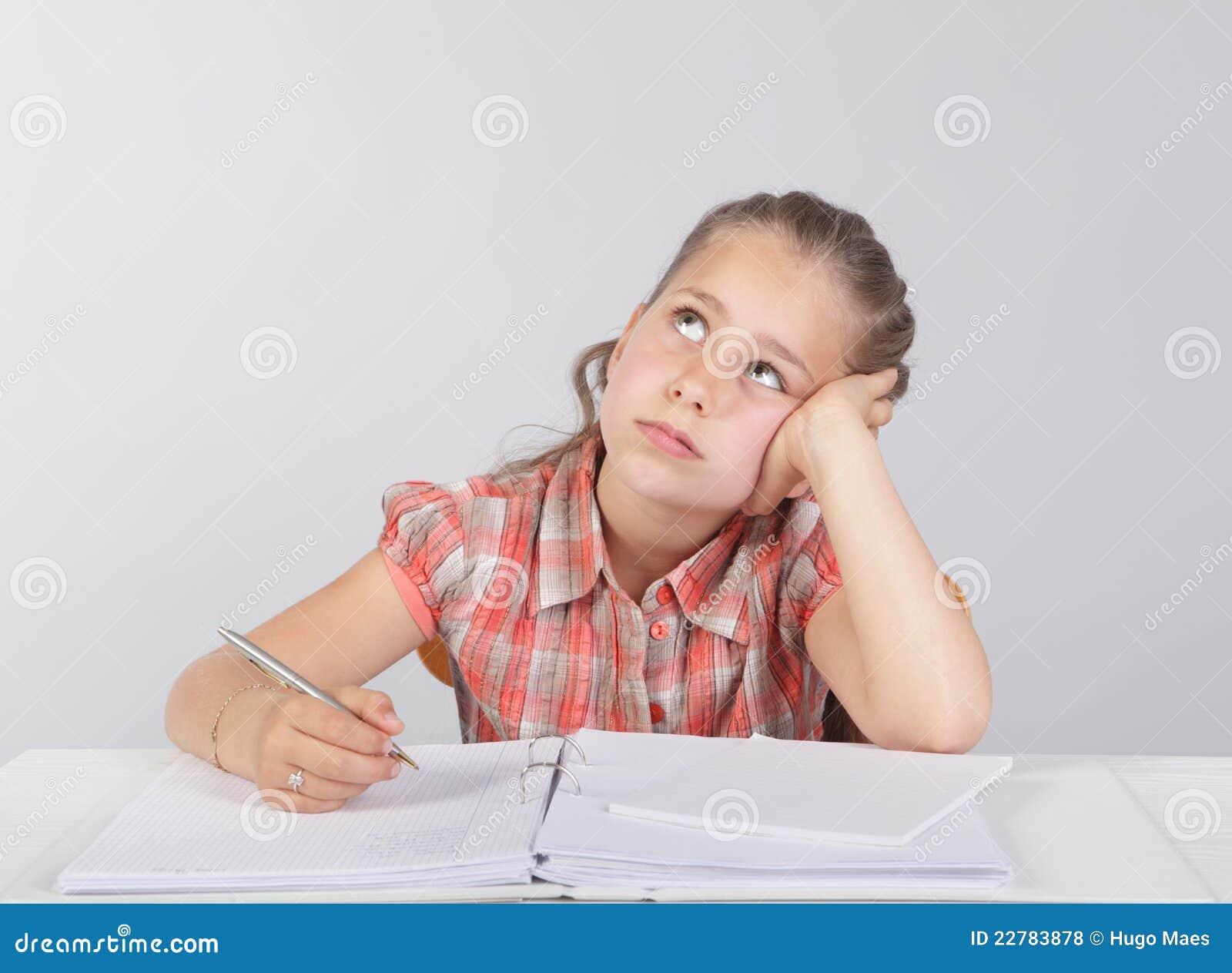 Rozpraszać uwagę pracy domowej dzieciaka szkoła