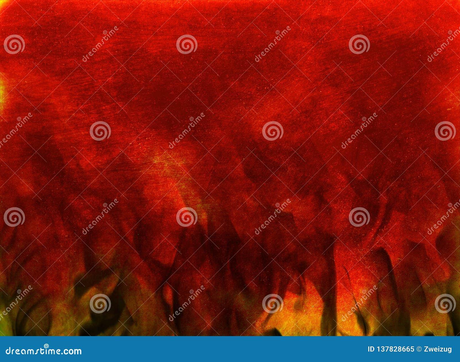 Rozszalałego palenie ogienia tekstury abstrakcjonistyczny tło