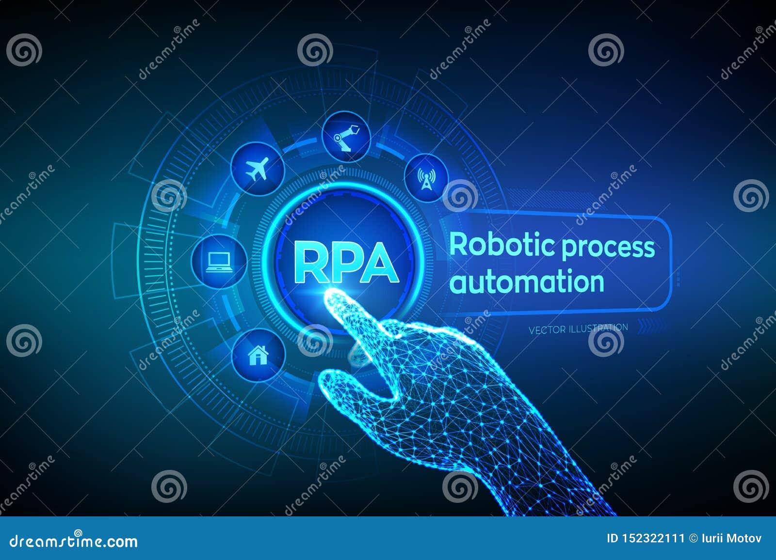 Rpa Robotic Process Automation Innovation Technology