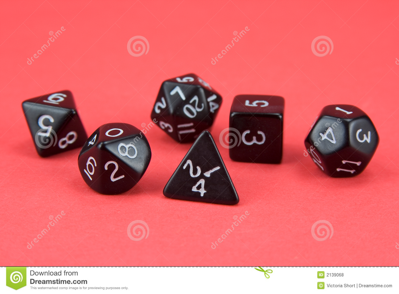 RPG dice stock photo  Image of close, dice, game, games