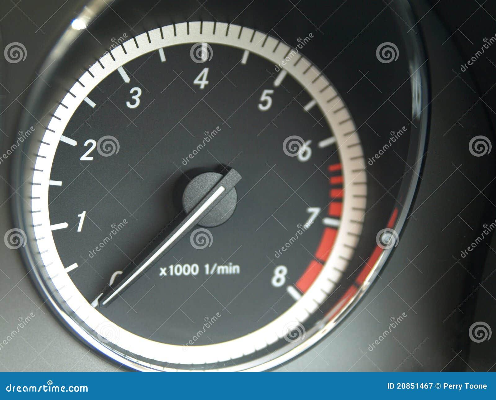 rpm meter stock image image of dial performance revs 20851467