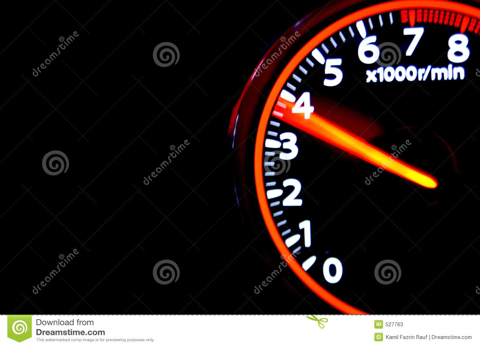 rpm meter stock image image of movement speed torque 527763