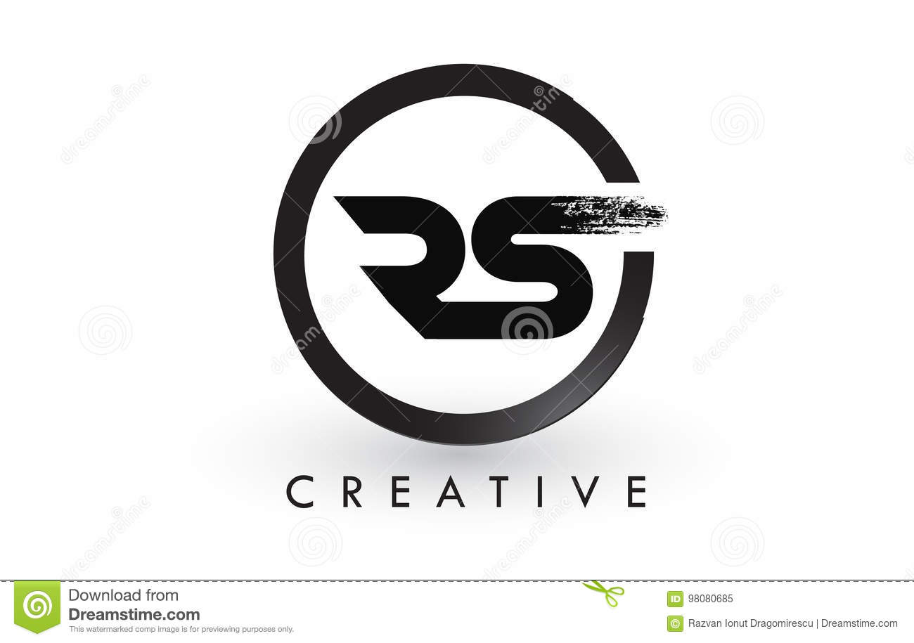 Rs brush letter logo design creative brushed letters icon logo rs brush letter logo design creative brushed letters icon logo buycottarizona Image collections
