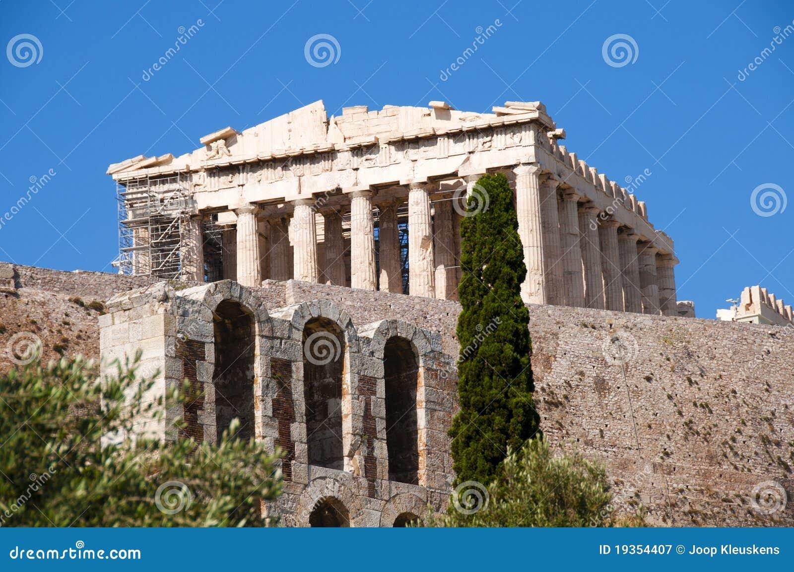Ruína do acropolis