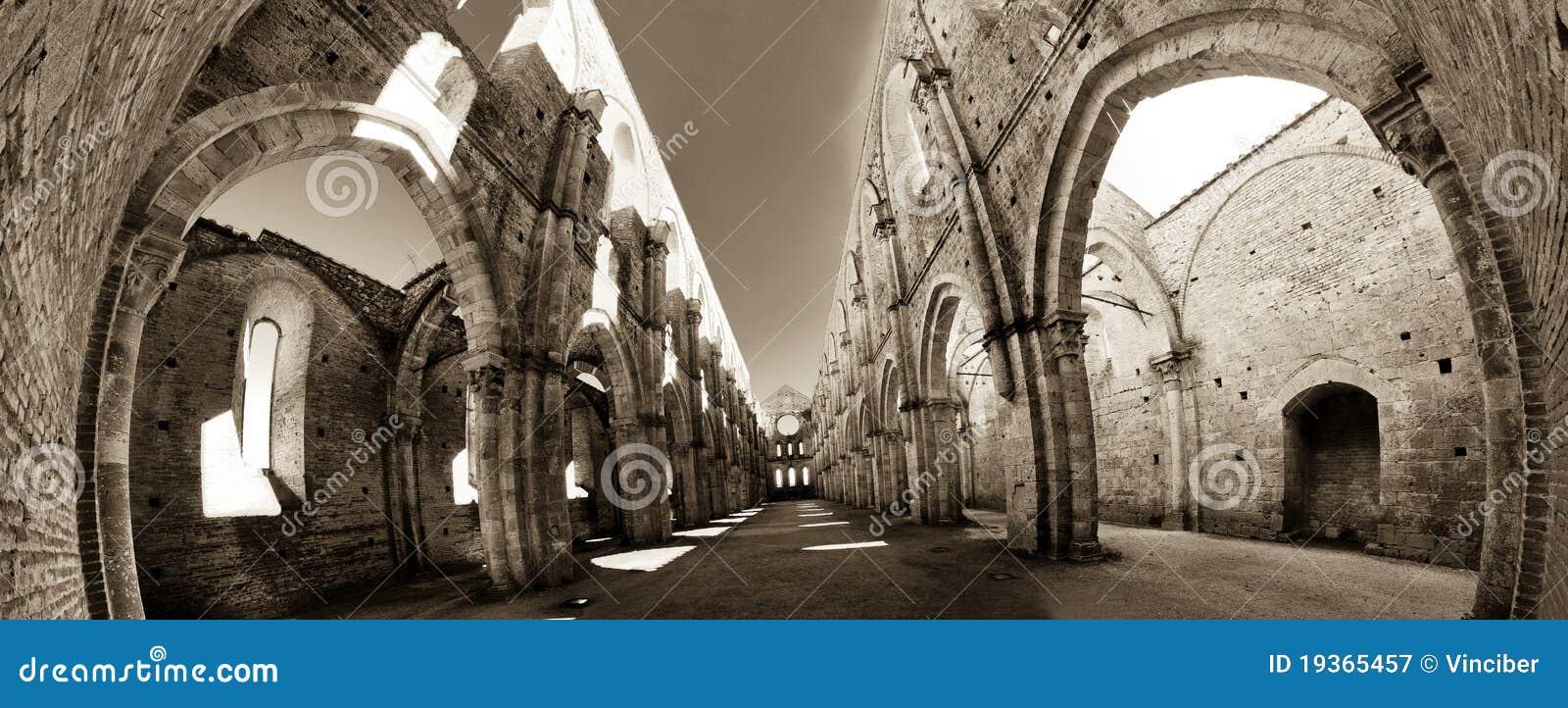Ruínas da abadia