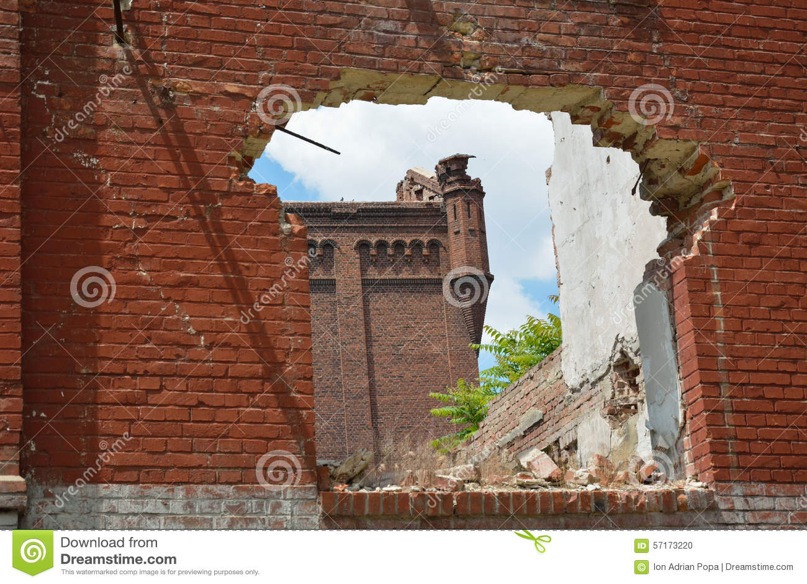 Ruínas de Assan Mill, Bucareste