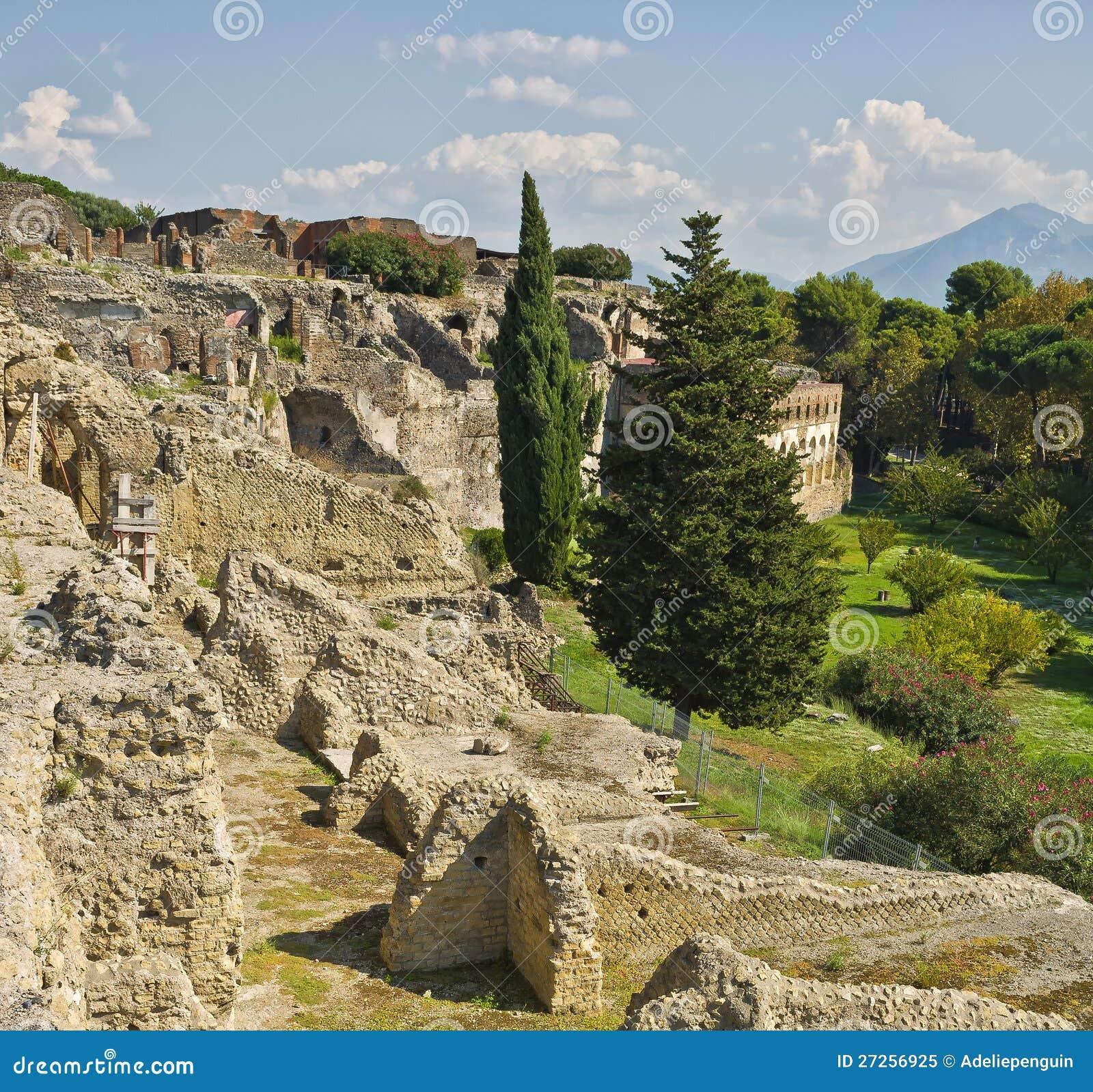 Ruínas de Pompeii, Italy