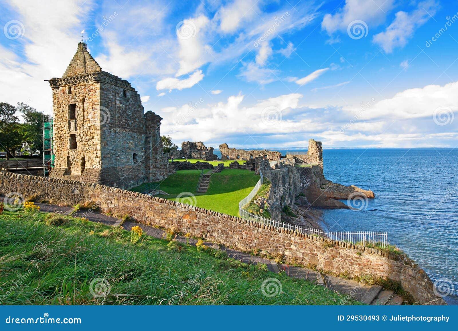 Ruínas do castelo de St Andrews