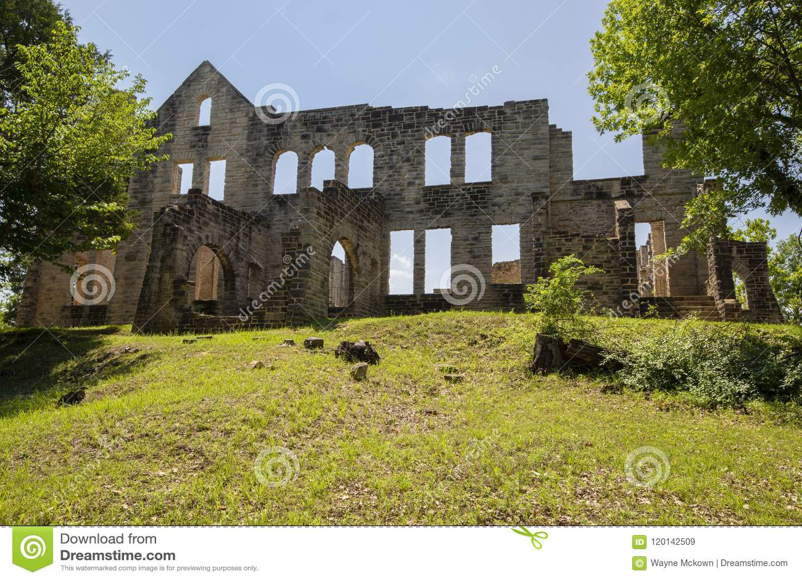 Ruínas do castelo do Ha Ha Tonka