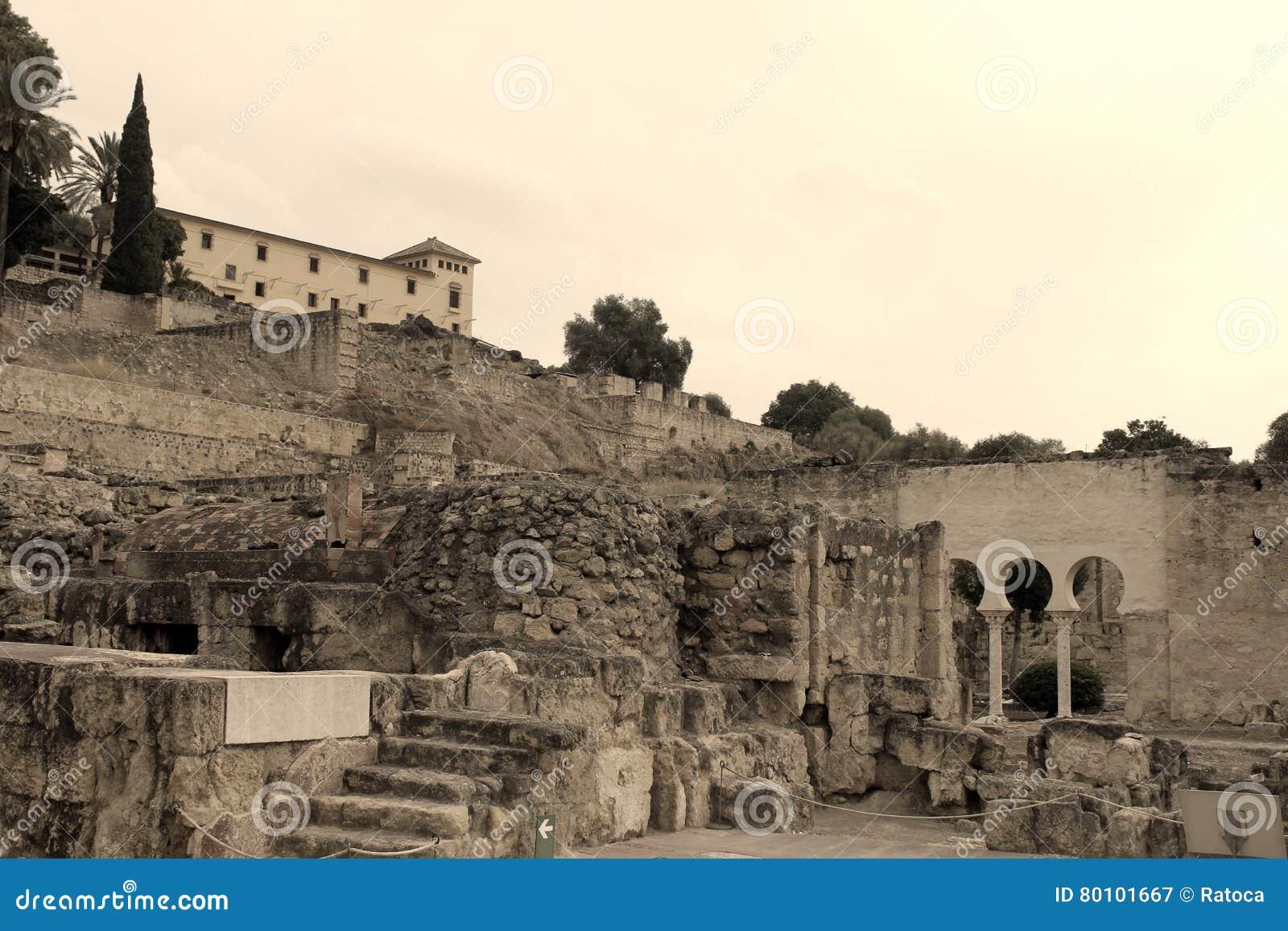 Ruínas do palácio da arqueologia