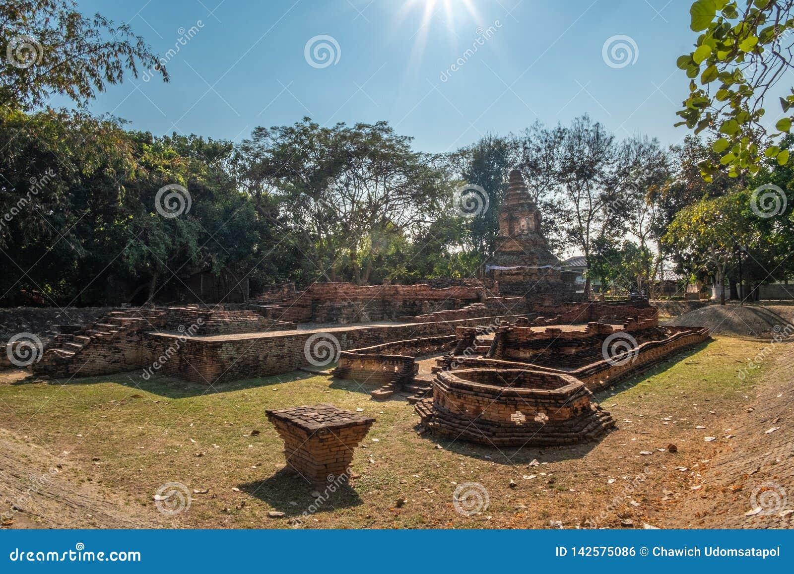 Ruínas do templo
