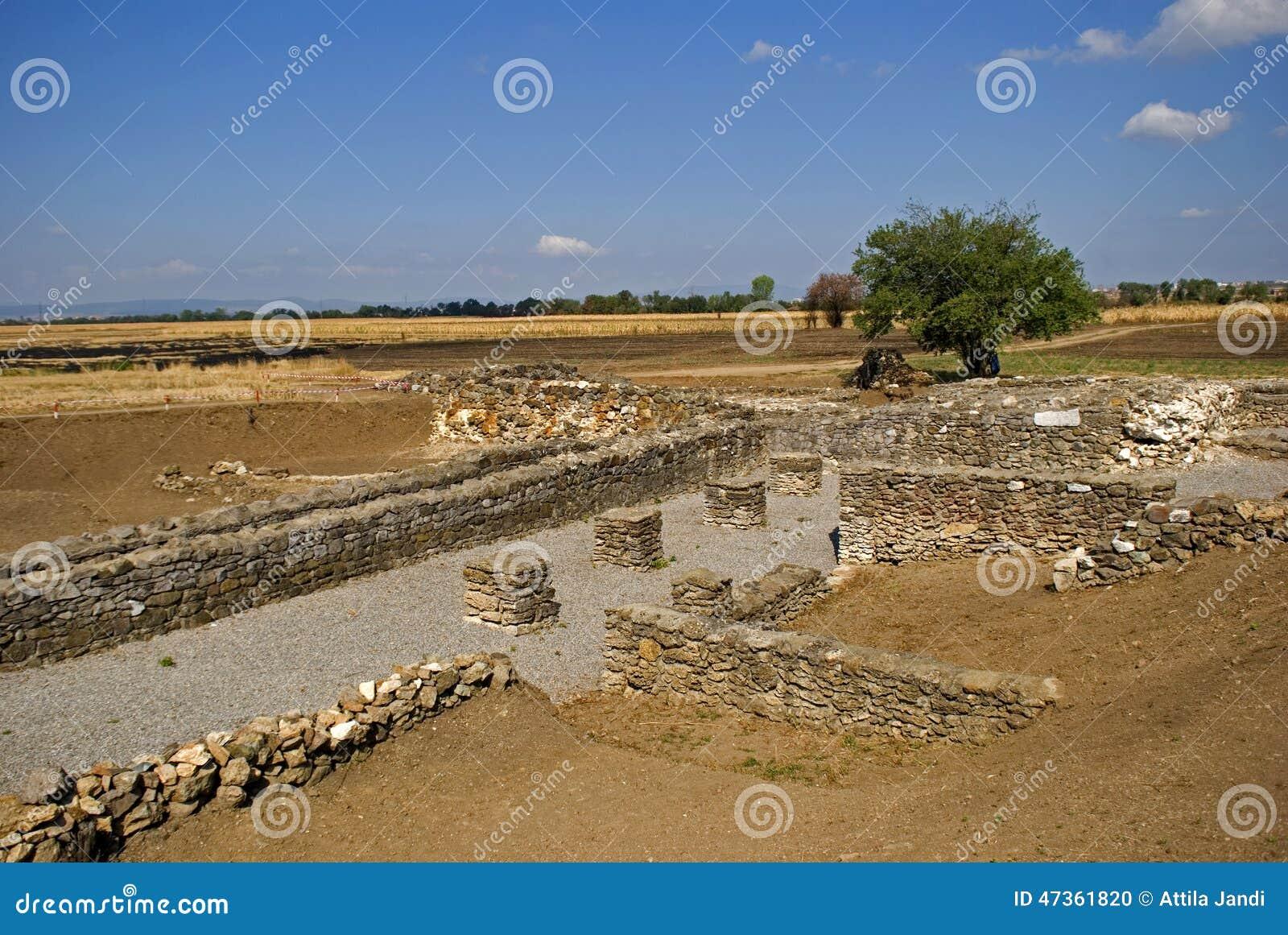 Ruínas romanas, Ulpiana, Kosovo