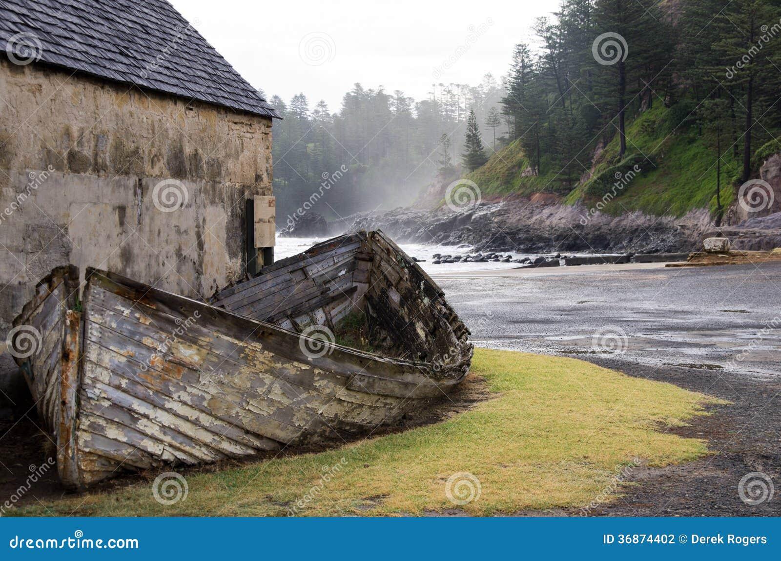 Ruïnes, het Eiland van Norfolk