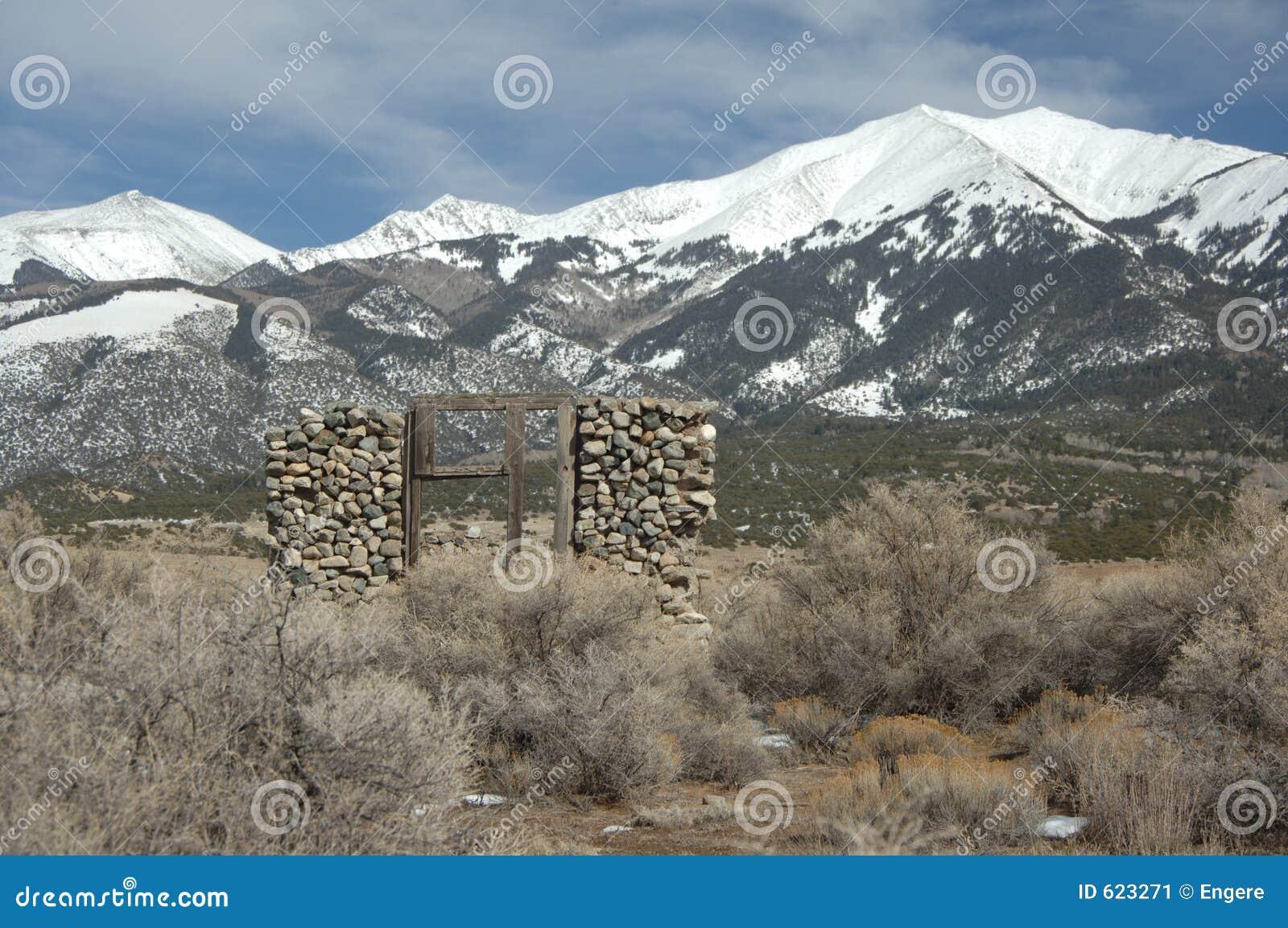 Ruïnes op Rockies