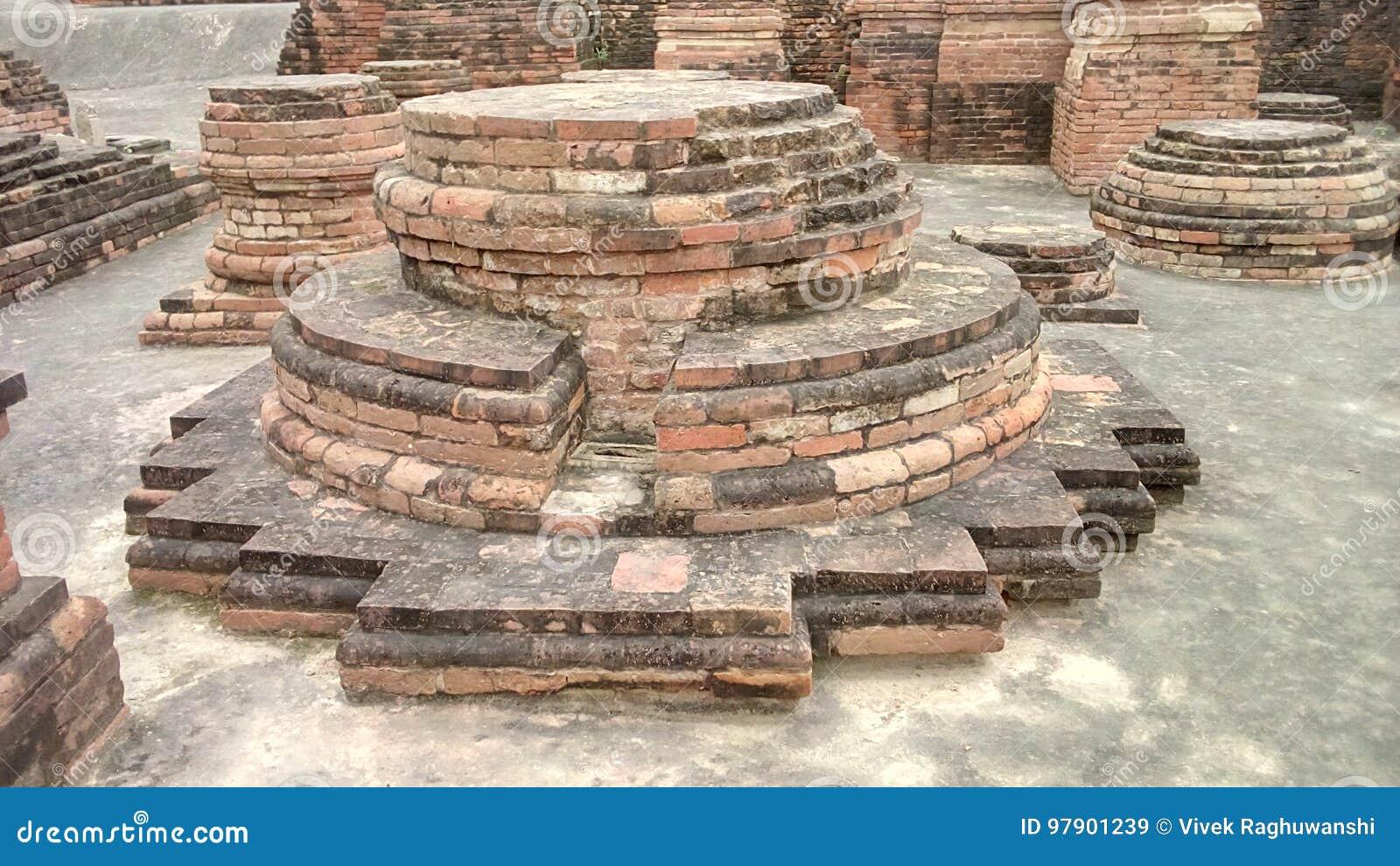 Ruïnes van Boeddhisme in Sarnath