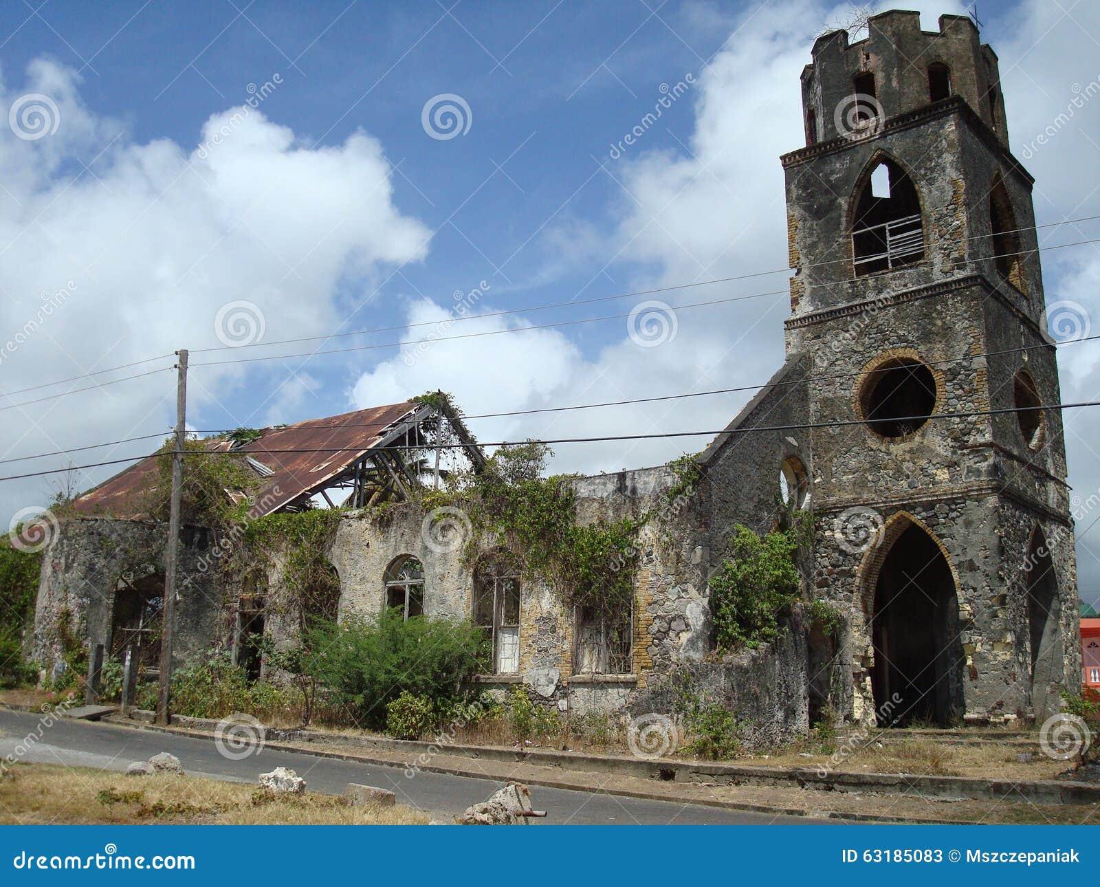 Ruïnes van kerk