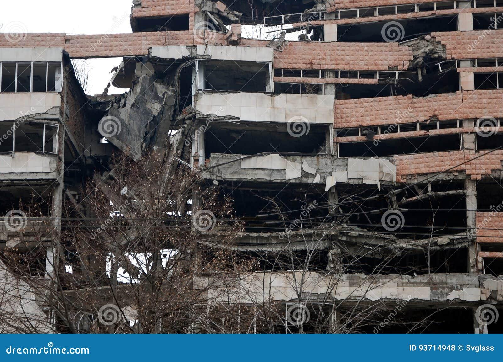 Ruïnes van Ministerie van Defensie