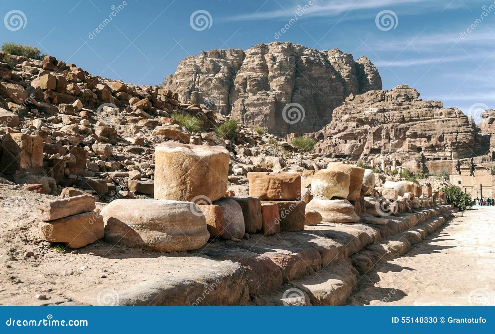 Ruïnes van Petra