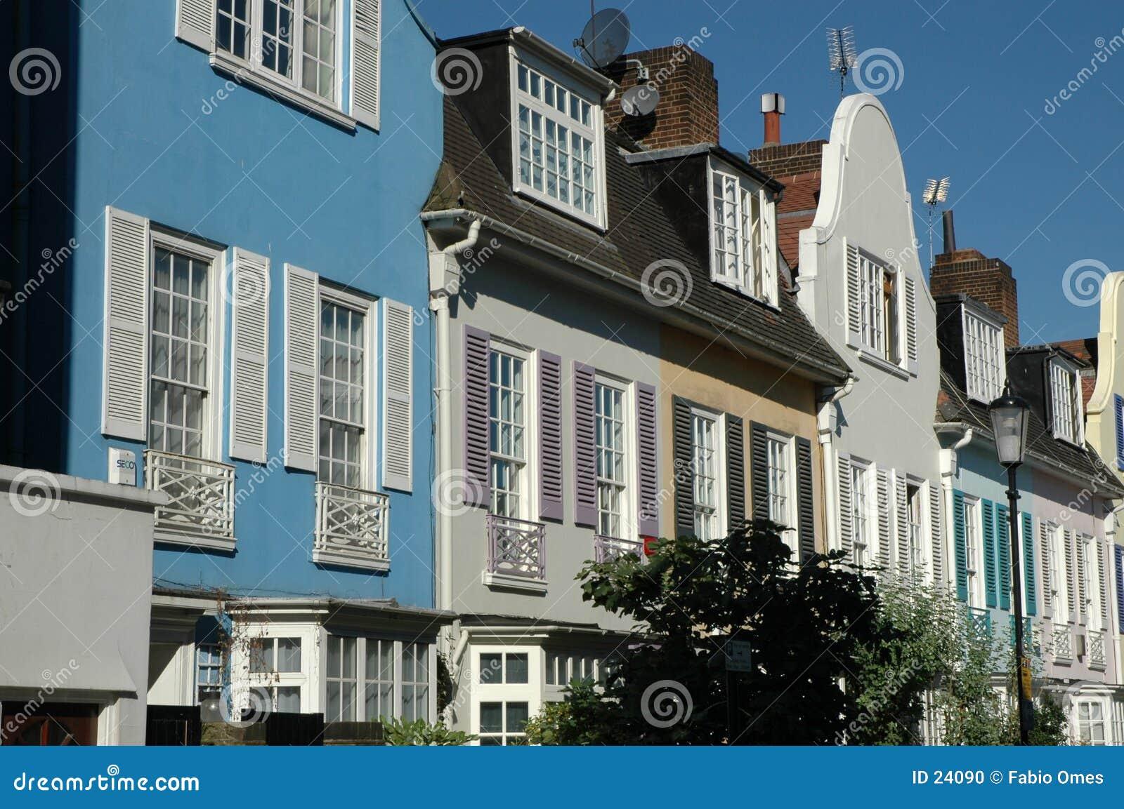 Rua bonita em Londres 2.