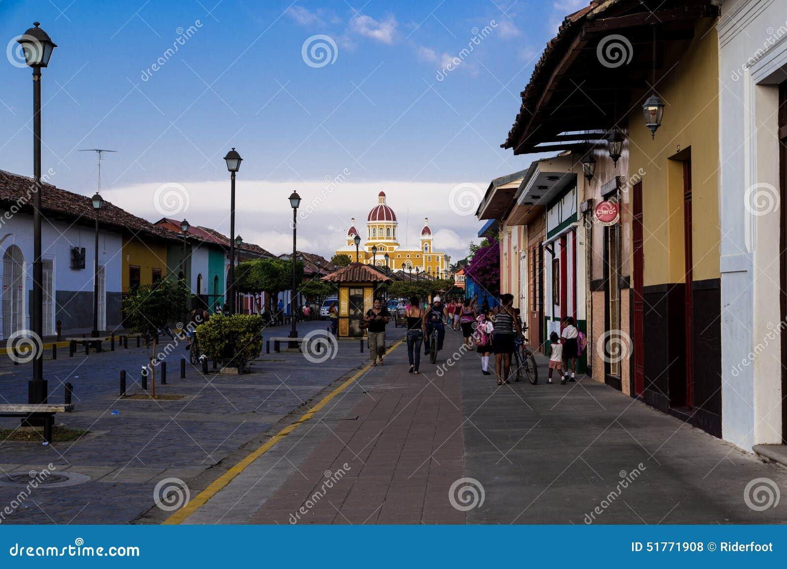 Rua de calzada do La de Granada