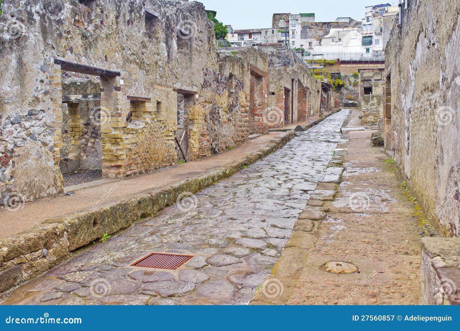 Rua de Herculaneum, Italy