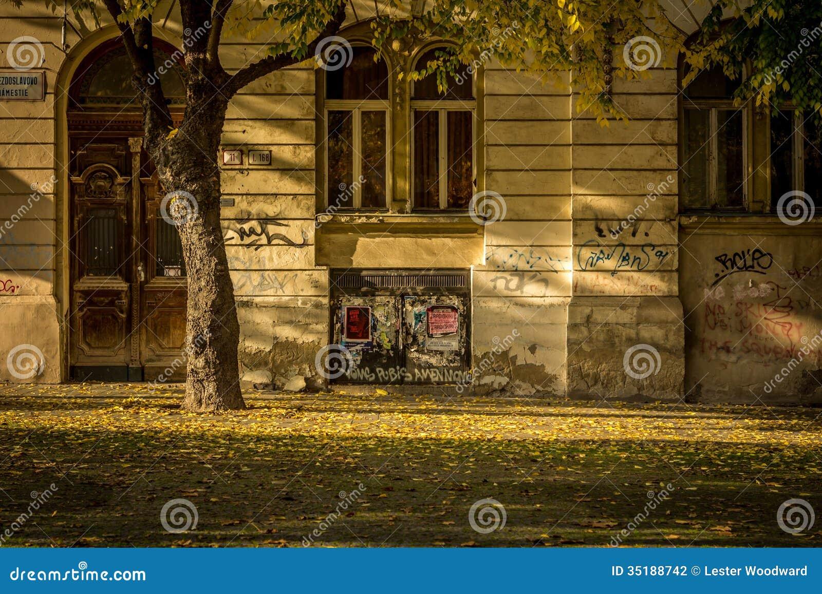 Rua do outono