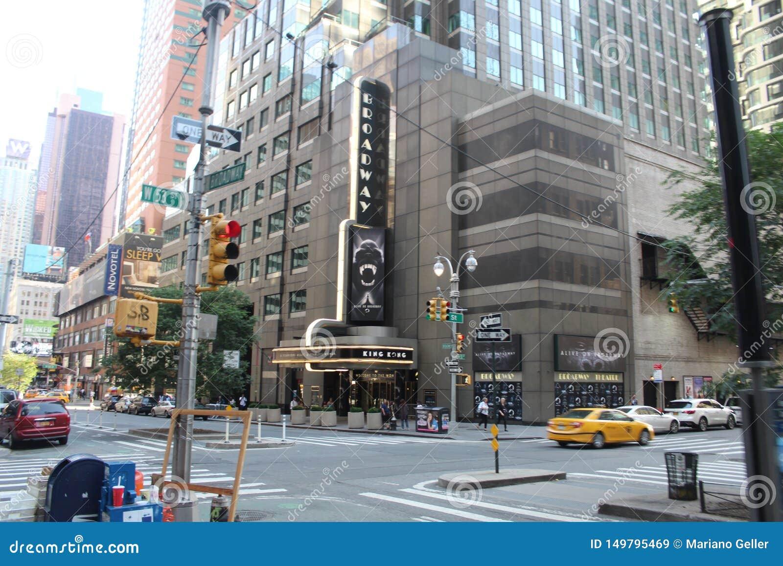 Rua dos Times Square em New York